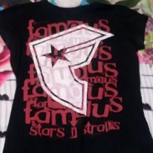 Famous Stars 'N Straps Logo Tee